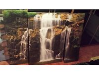 waterfall canvass