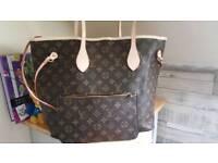 Louis Vuitton bag and purse