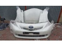 Single Unit : Front end Toyota Prius 3rd Generation Faclift 2012 - 2015