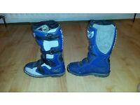 Kids motorbike boots