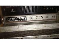 CROWN AMCRON Macro-Tech 2400 - 2.5k Power Amp