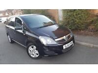 2011(61) Vauxhall Zafira exclusiv 115bhp 1.6 petrol manual 7 seater