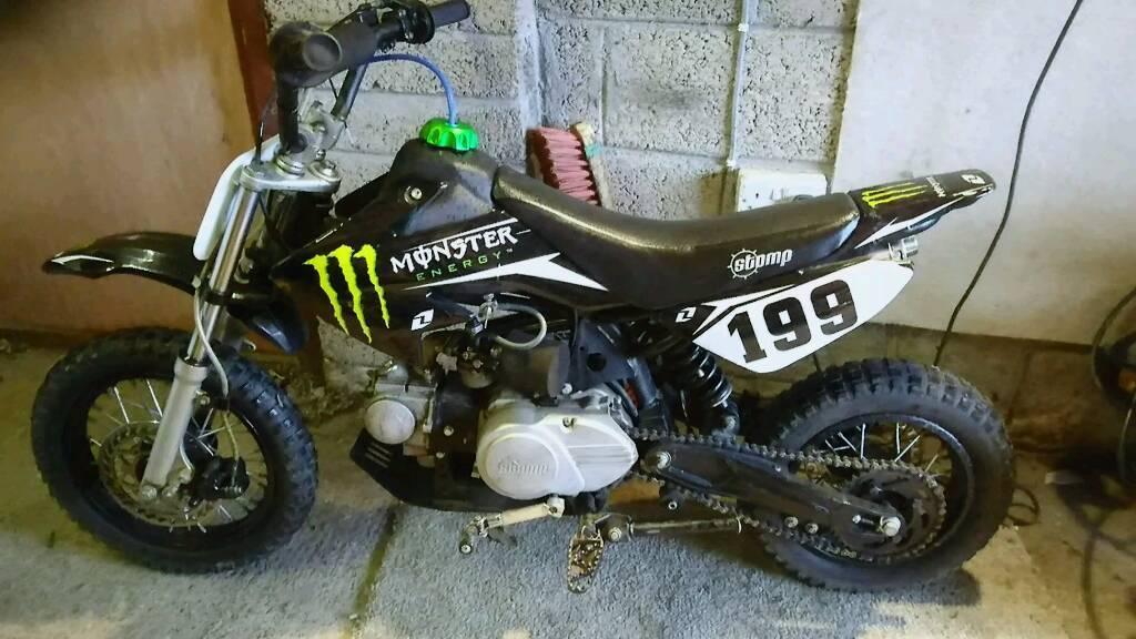 50cc stomp pit bike