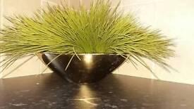 Faux grass ornament