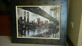 Roy Edwards Fine Arts - Manhattan Skyline