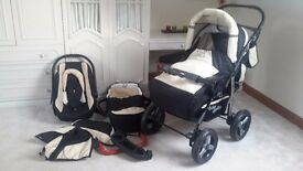 Brand New Pram / Buggy / Push Chair with Car Seat