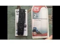 All for one remote URC7120