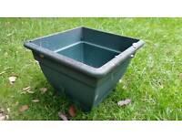 Large square planting pot