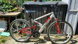 Adults full suspension bike