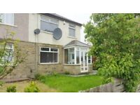 BEAUTIFUL 3 BEDROOM SEMI DETACHED HOUSE FOR RENT TO LET BRADFORD - THORN LANE BD9 6NB