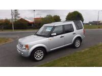 LAND ROVER DISCOVERY 2.7 3 TDV6 XS 2008,Sat Nav,Black Leather,ParkSensors,Privacy Glass,Colour Coded