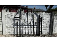 Wrought iron gate / Garden gate / Metal gate / steel gate / side gate / house gate / driveway gate