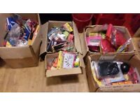 Hen and Stag night accessories - 5 boxes / job lot - free to collector - would suit boot sale/ebayer