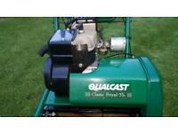 Qualcast Classic petrol lawnmower