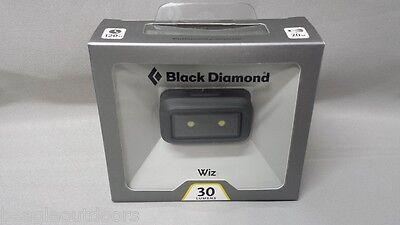 NEW Black Diamond Wiz 30-Lumens LED Kids Headlamp / Flashlight Graphite ()