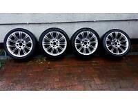BMW MV2 ALLOYS FULL SET