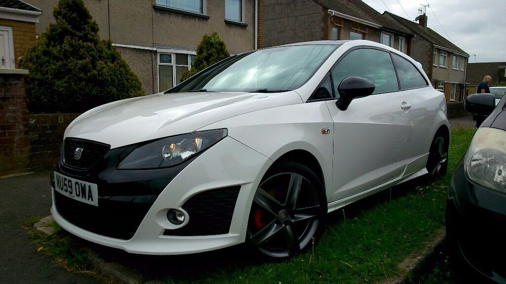 seat ibiza cupra bocanegra 1 4 tsi 180 bhg dsg 2009 in bridgend gumtree. Black Bedroom Furniture Sets. Home Design Ideas