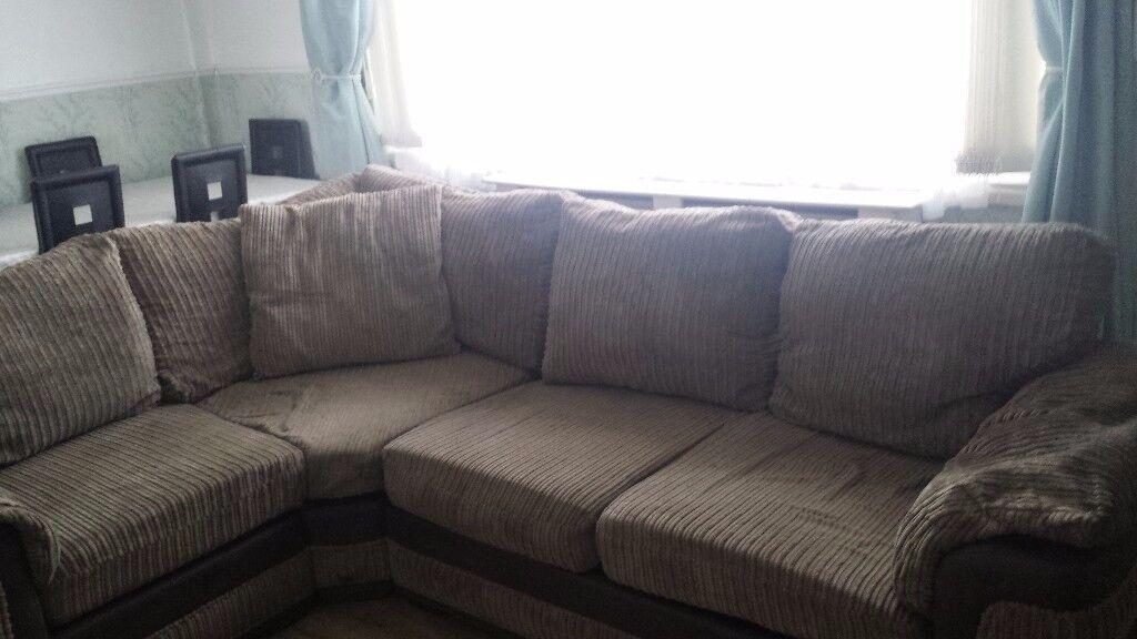 corner sofa lowered price look