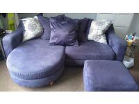 4 person dfs sofa great condition