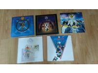 10 x fish ( marillion ) rare singles 7 / cds inch