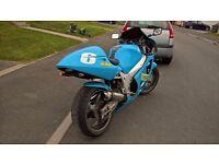 GSXR 600 SRAD 1999 custom sports bike