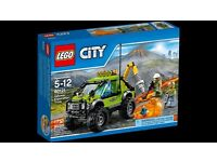 Brand NEW Sealed- LEGO 60121 Volcano Exploration Truck RRP £15.00