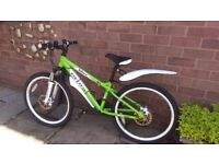 "Carrera Blast Junior Mountain Bike (24"" wheel) in excellent condition"