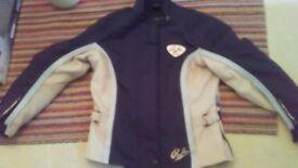 Ladies motorbike jacket richa size 12