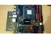 AMD FX8350, MSI 990x Gaming Motherboard, 8gb DDR3 Kingston Hyper X