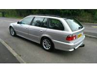 2003 Bmw 525D Automatic mot july 2018 service with history
