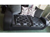 Charcole sofa & Love seat