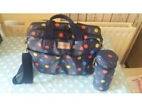 Cath Kidston Spotty Changing Bag