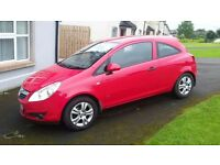 Vauxhall Corsa Active Ecoflex CDTI 2010 Red 1248 cc 3 door