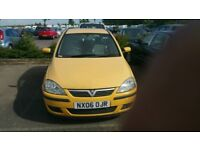 v corsa 3 door mot 07/18 very good run and drive px to clear