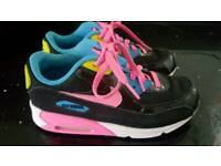 Nike air max girls trainers size 2.5