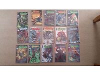 Spawn comics issues 31 to 45 mint condition