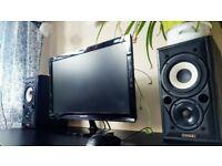 Samsung SyncMaster P2450 24inch; 2ms 1080p Monitor. (Screen, PC, Display, HD)