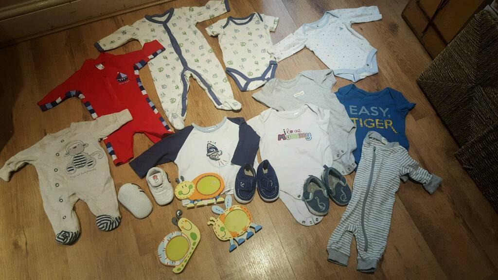 Childrens clothing bundle age 0 3months3 6 monthsin Twickenham, LondonGumtree - Bundle.of.baby clothesAges newborn. O0 3months & 3 6 months All for £6Baby gap. H&m. Next etcCollection Twickenham whitton TW3