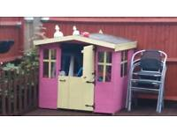 Kids wooden Wendy house