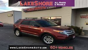 2014 Ford Explorer XLT LEATHER ALLOY WHEELS BLUETOOTH CONNECTIVI