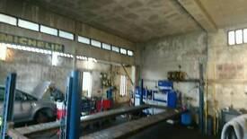 5.5 metre 3 tonne, 3 phase 4 post workshop ramp