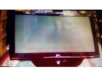 LG Wide-screen 42 inch HD TV. Remote control. Can deliver locally. Collect today cheap