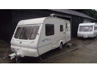 R&K CARAVANS 2002 BAILEY RANGER 510/4, WITH MOTOR MOVER, AWNING, 32 MONTH WARRANTY