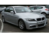 2009 59 BMW 3 SERIES 2.0 318D M SPORT 4D 141 BHP DIESEL*2 YEARS WARRANTY*FINANCE AVAILABLE