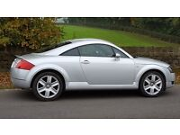 *Audi TT COUPE 1.8 Silver , Must view to appreciate condition - beautiful!!, 2 keys included*
