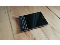 BlackBerry Passport - Black (Unlocked) Original Package Org. Deck and Charger
