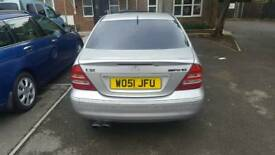 Mercedes c32 avangarde