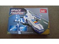 Space Fighter building brick set