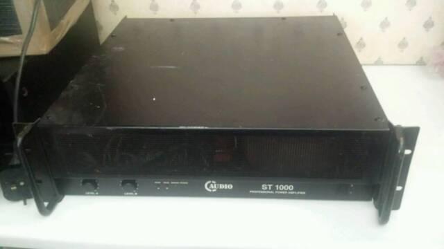 C-Audio ST-1000 1000 Watt RMS Disco PA Amplifier   in Winnersh, Berkshire    Gumtree