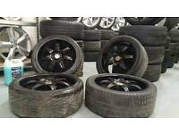 "Wolfrace Eurosport 17"" 4x108 alloys + tyres! Ready to fit! Ford citreon Peugeot rrp £400!"